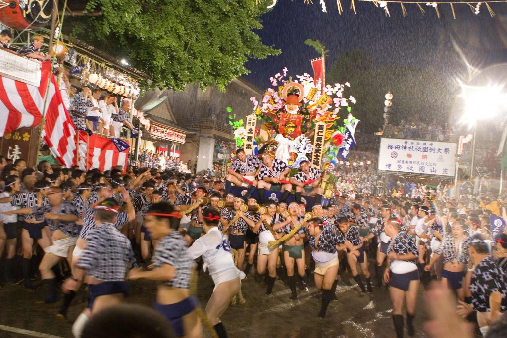 A Fascinating Festival of Floats ~ Hakata Gion Yamakasa