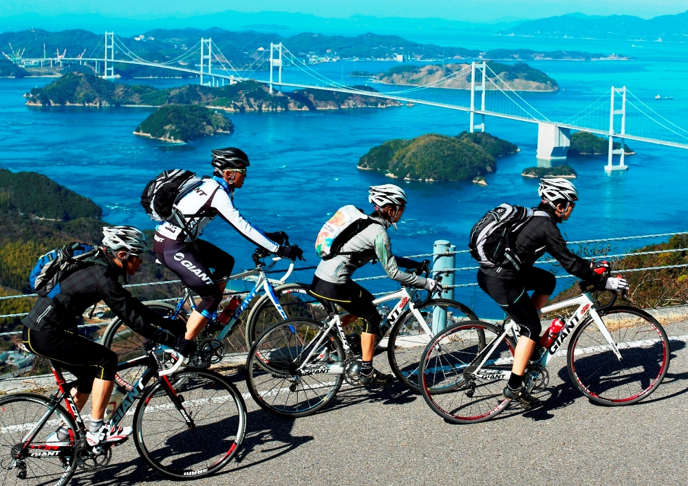 Shimanami Kaido Cycling, cycling through the picturesque scenery~