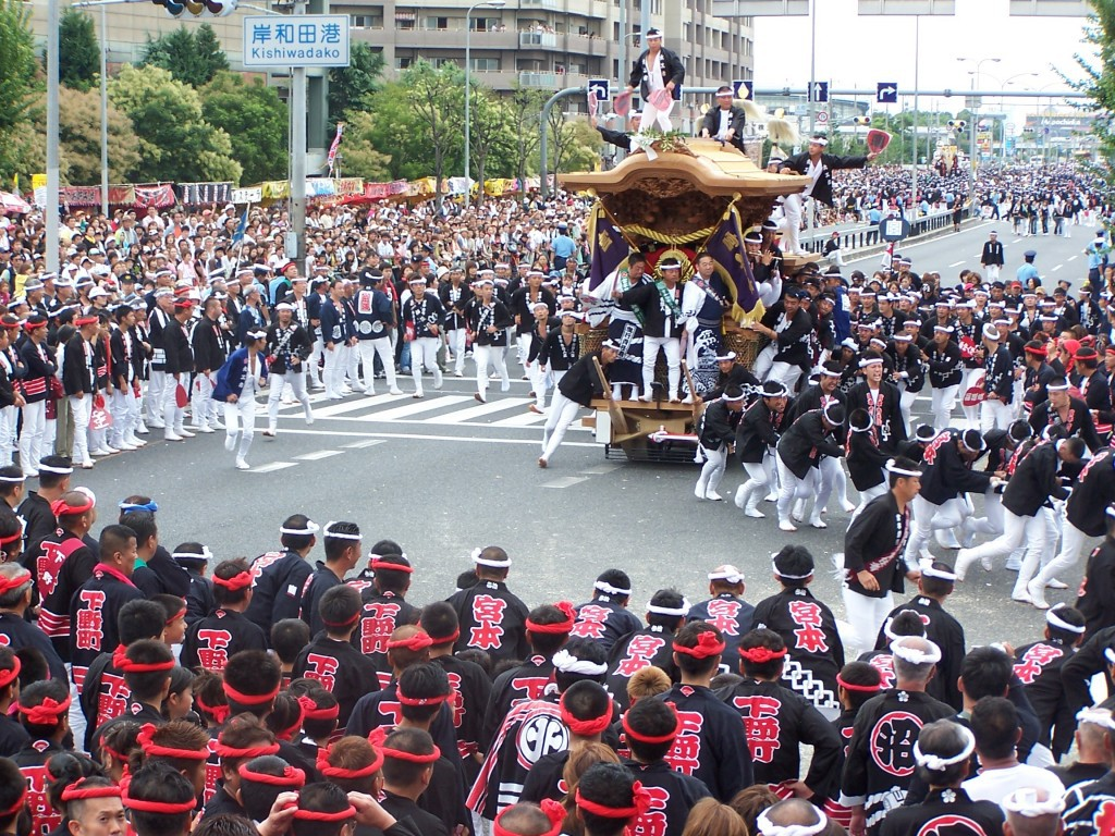Kishiwada Danjiri Festival, a race of strength and speed!