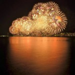 Dances of Light by the Lakeside,  Biwako Great Fireworks Festival!