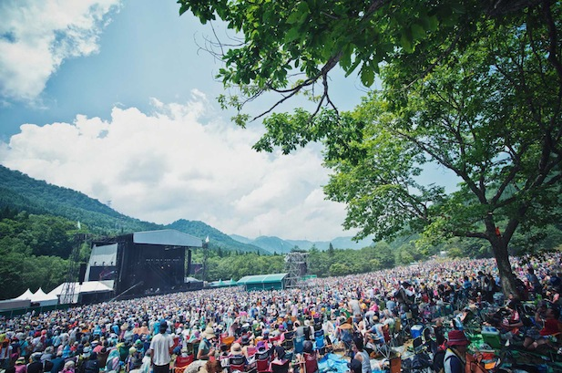 Stomping out the Heat with FUJI ROCK FESTIVAL!
