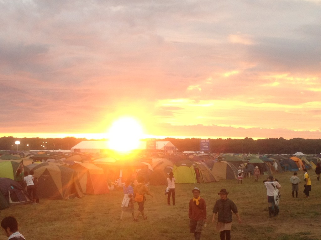 Let's Get Crazy Till the Sunrise! RISING SUN ROCK FESTIVAL!