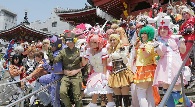 Battleground of Cosplayers from all over the world, World Cosplay Summit ~ where Anime character comes to life!