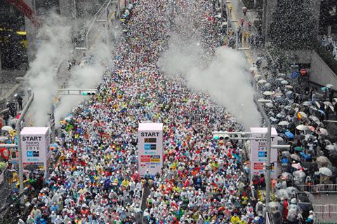 Run Baby Run ! TOKYO MARATHON!