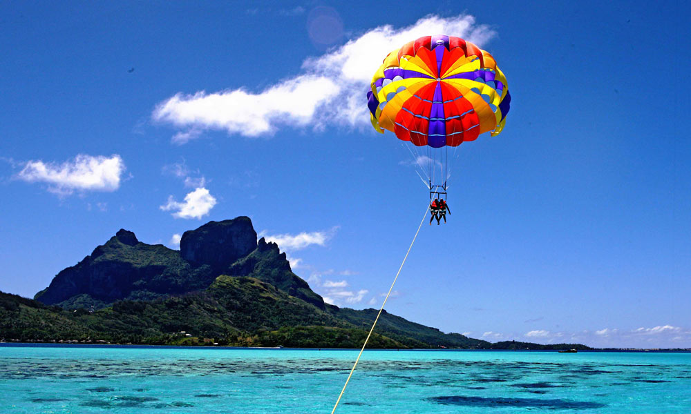 Feel the Sea, Feel the Breeze!! Parasailing Experience~