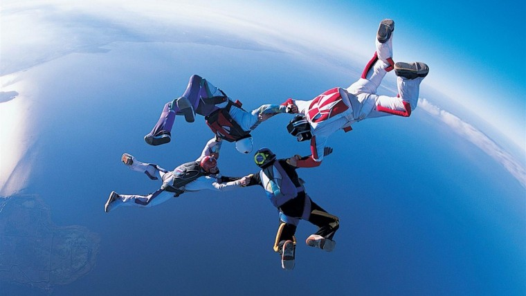 Feel the Air, Feel the Sky ~  Sky Diving Experience