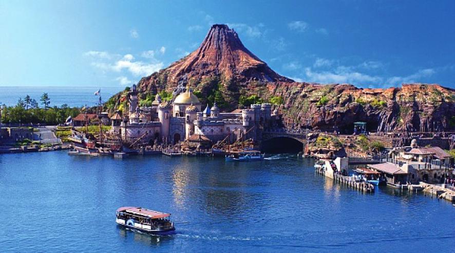 大人的约会圣地,小孩的乐园,东京海洋迪士尼乐园
