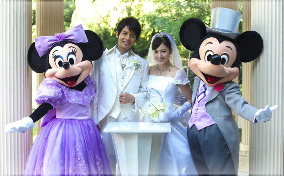 Plymouth disney wedding