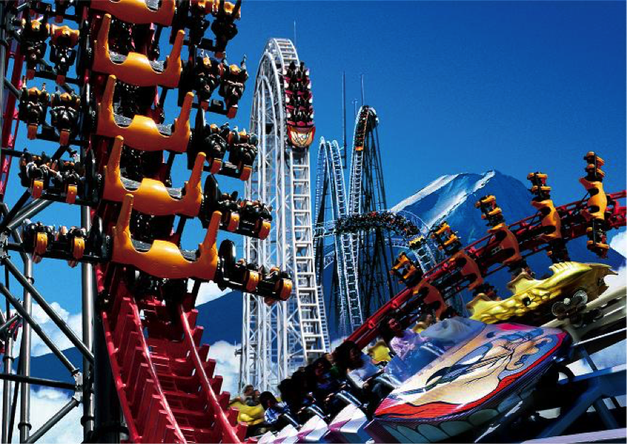 Chill Your Spine With Extreme Thrill Ride In Fuji Q