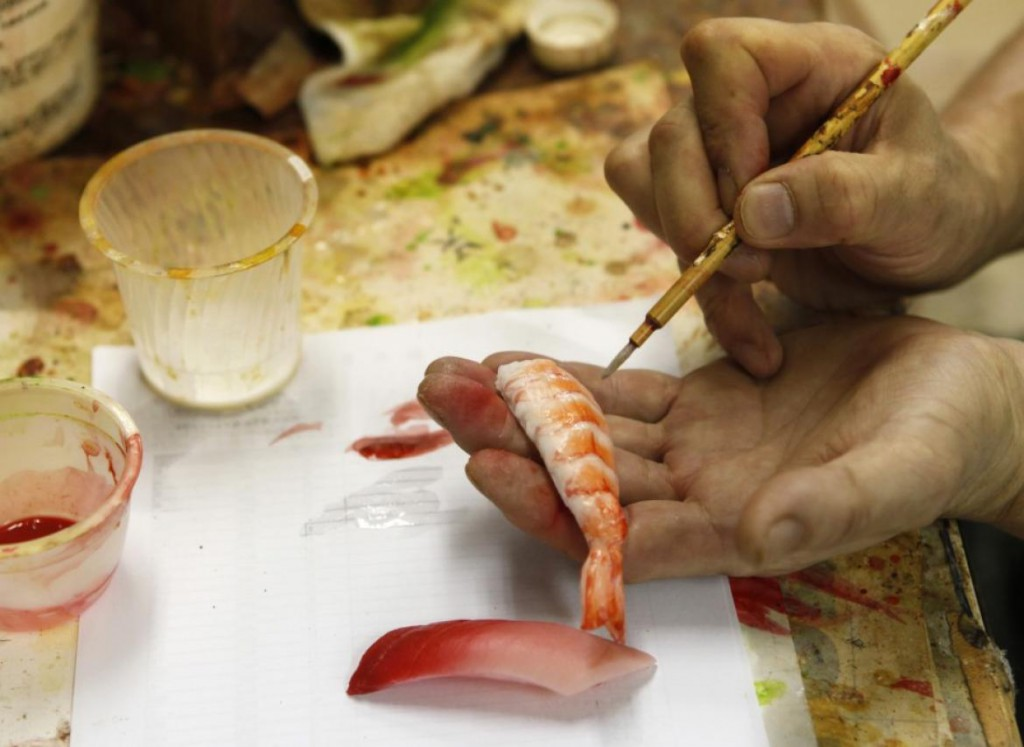 吃货们的福利!塑胶食物模型制作体验之旅