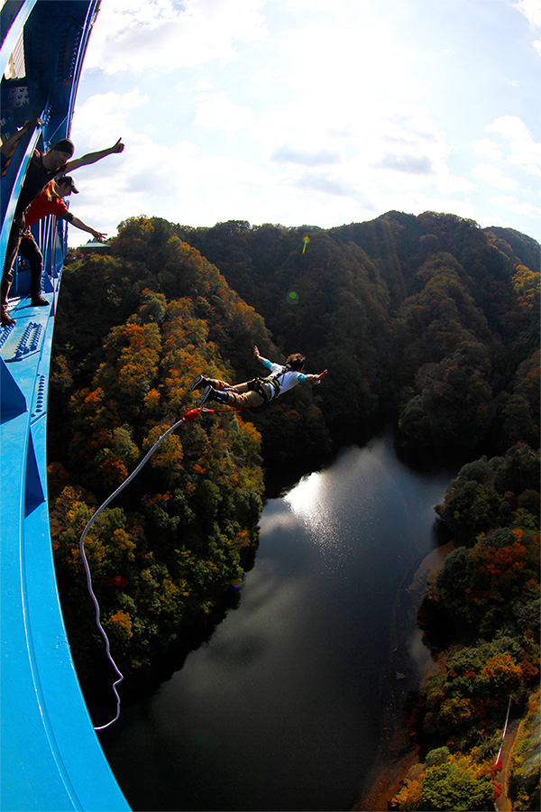 Spice up your bland life with  Bungee Jumping Experience!