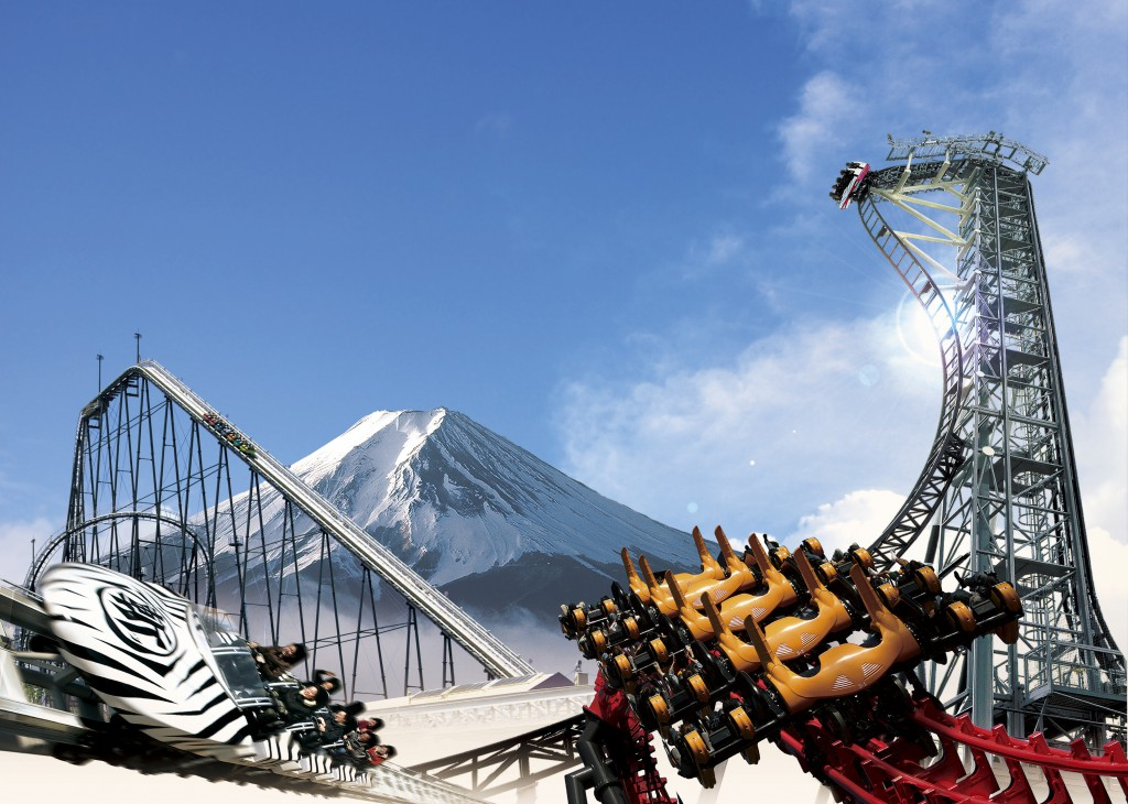 Chill Your Spine with Extreme, Thrill Ride in Fuji-Q Highland!