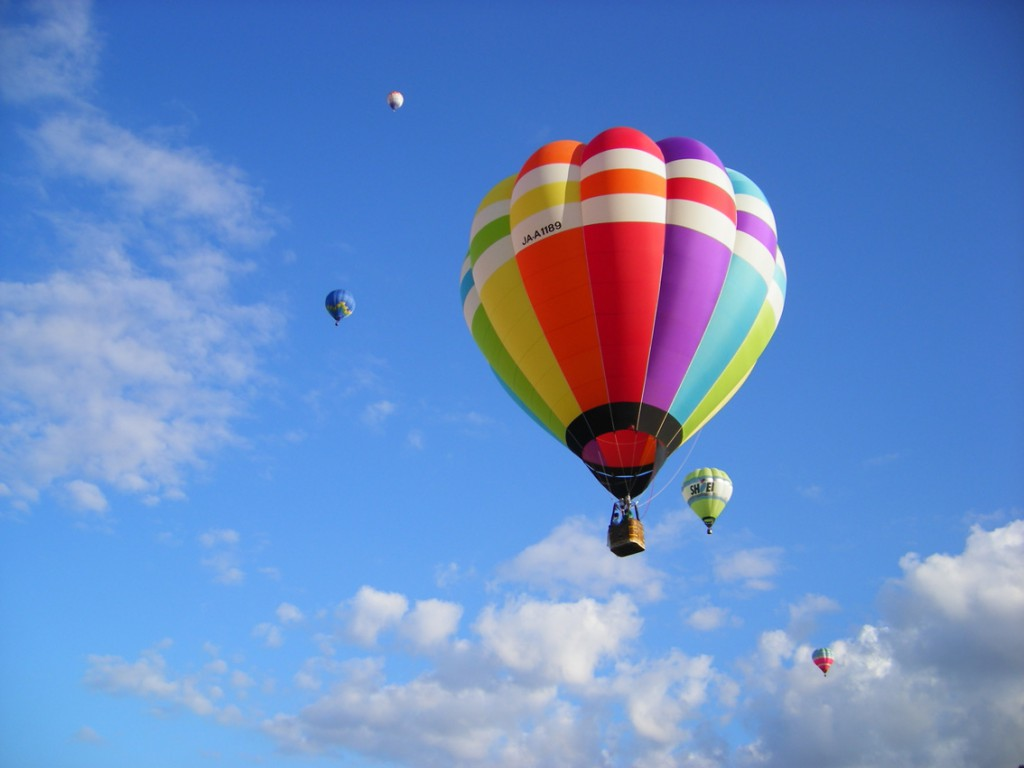 Fly High and Touch the Sky ! Hot-air Balloon Experience!