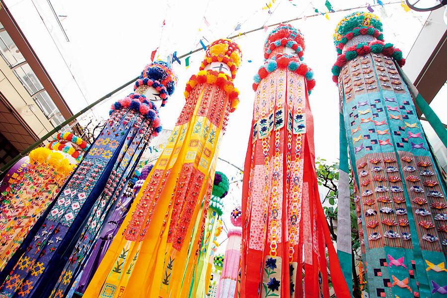 七夕玩哪里?快来看看仙台七夕祭