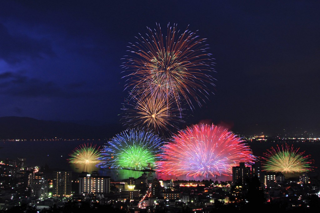 Largest Firework in Japan~ Suwa Lake Fireworks Festival