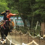 YABUSAME, horseback archery~ the art of speed and strength
