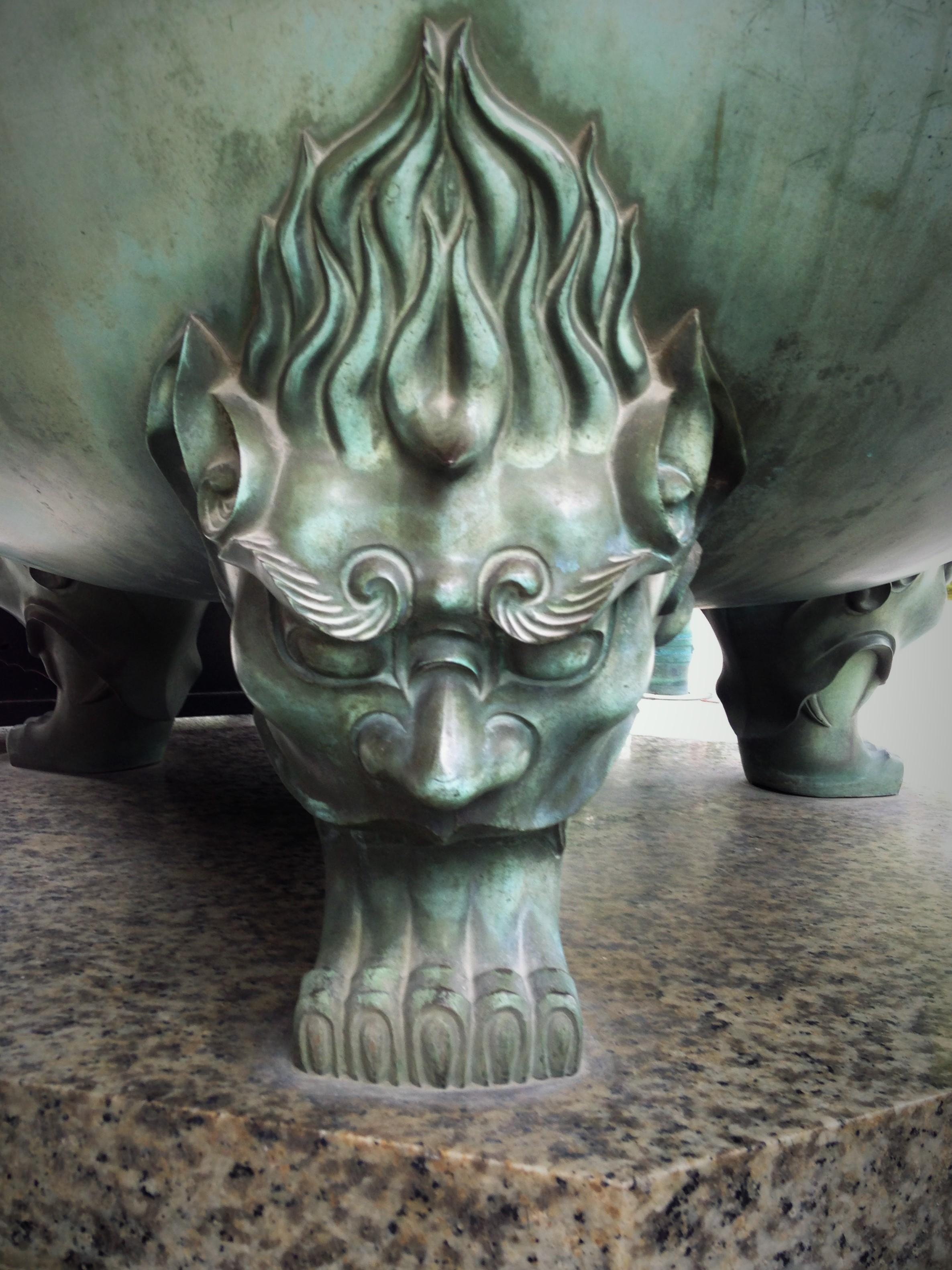 南禅寺㈪香炉の足