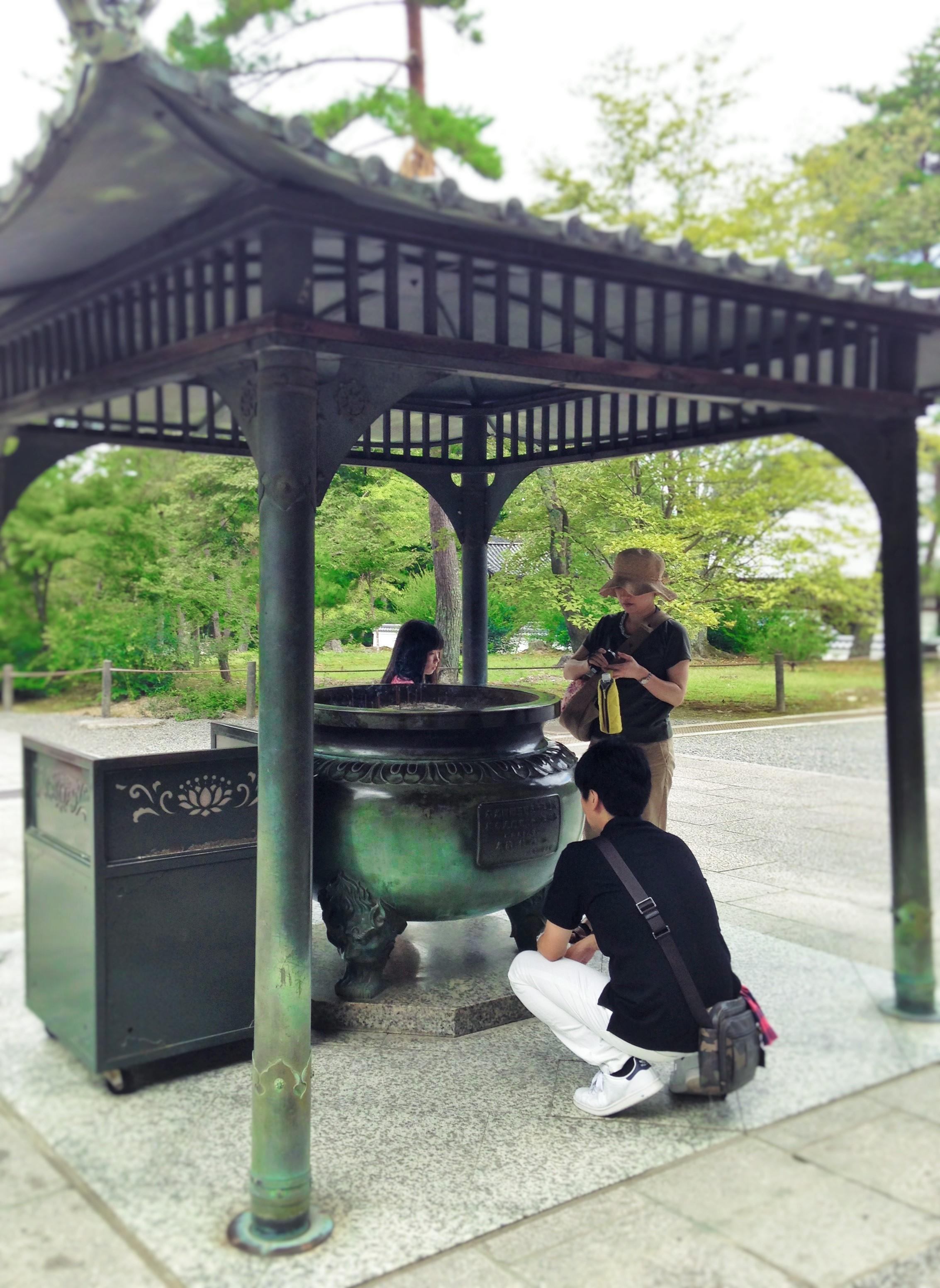 南禅寺㈪香炉