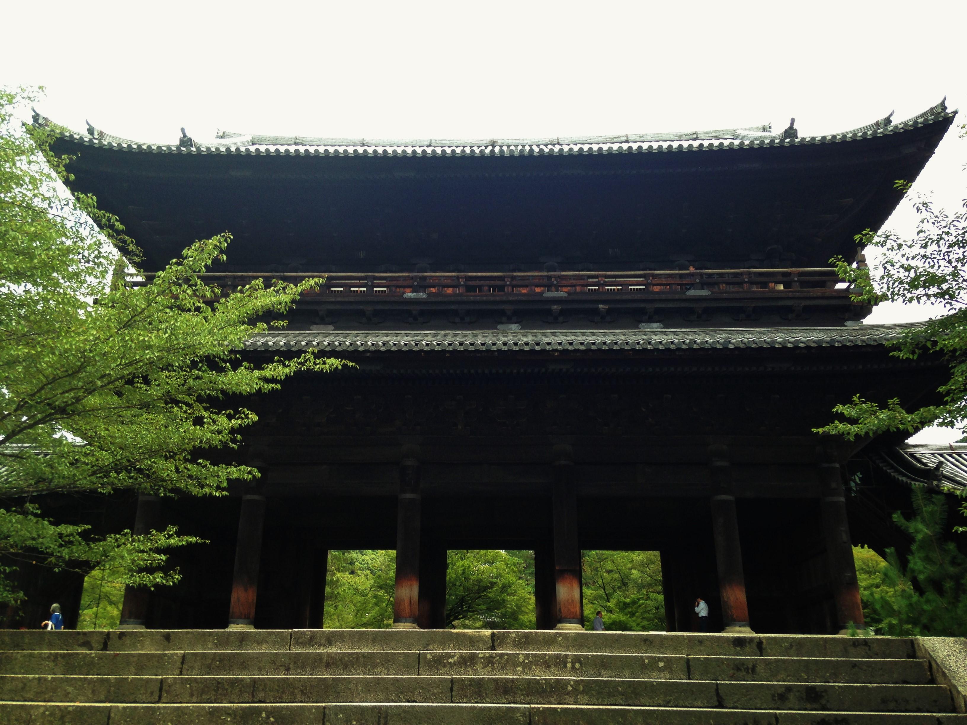 南禅寺㈰三門